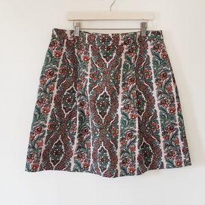 Boden Paisley Skirt